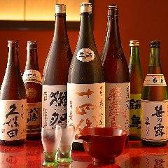 日本酒も品数豊富