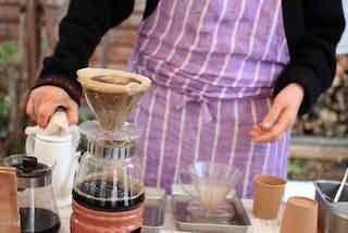 コーヒーは、大磯Beans Mart OICOSの豆を使用。