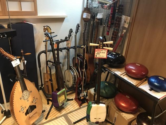和楽器、民俗楽器