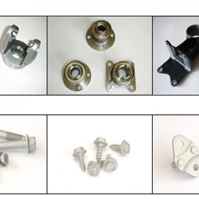 自動車用構成部品(機械加工及び表面処理)